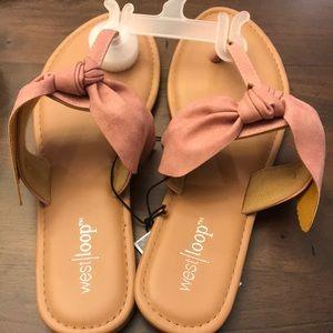 Shoes - Light pink/ Mauve sandals